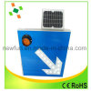 Guide de signalisation à LED signe solaire