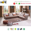 Nuovo sofà coreano moderno del tessuto della mobilia del salone di disegno (HC-R572)