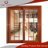 Раздвижная дверь интерьера зерна европейского профиля типа алюминиевого деревянная