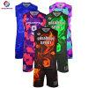Última Sportswear Barato Basquetebol Sublimação Personalizado Jersey Design uniformes