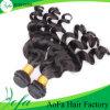 新しい方法100%自然な波の毛のインドのRemyの人間の毛髪