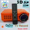 HD 디지털 방식으로 텔레비젼 공용영역을%s 가진 작은 DVB-T 영사기