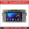 フォードFocus (AD-7608)のためのA9 CPUを搭載するPure Android 4.4 Car DVD Playerのための車DVD Player Capacitive Touch Screen GPS Bluetooth