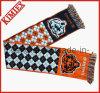 Рекламные 100% полиакрил Однослойный трикотажные соткана из жаккардовой ткани Без шарфа