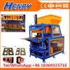 Rh4-14 Machine automatique de bloc de terre comprimée petite machine à briques ciment hydraulique de verrouillage, machine à fabriquer des briques de cendres volantes