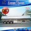 50000 litros de la leche del transporte de acoplado inoxidable del tanque de acero semi