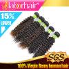Выдвижение Lbh 025 Remy девственницы Weave 9A человеческих волос естественное бразильское Kinky курчавое