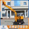 中国の小型掘削機0.8トンのクローラー掘削機の小さい掘る機械