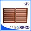 Grain/Powder di legno Coated 6061-T5 Aluminium Fences Profile