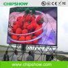 Chipshow P16 LED al aire libre a todo color que hace publicidad de la exhibición