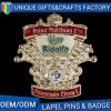 Emblemas europeus Promoções de presentes Esmalte Crafts Metal Pins