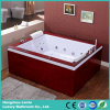 Cómoda bañera de masaje de natación (TLP-666-falda de madera)