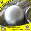 ASME B16.9 304 316の継ぎ目が無いバット溶接のステンレス鋼の管付属品の皿に盛られたエンドキャップ