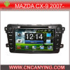 Reprodutor de DVD puro do carro do Android 4.4.2 para Mazda Cx-9 2007 - tela de toque capacitiva GPS do processador central A9 Bluetooth (AD-T009)