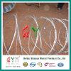 高い引張強さワイヤー十字かみそりワイヤーコンチェルティーナの有刺鉄線