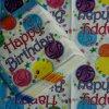 Servilletas de papel del feliz cumpleaños de la servilleta del partido de la servilleta del hogar