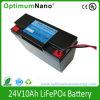 Menor 24V 10Ah LiFePO4 de la batería de carro de golf o E-Scooter