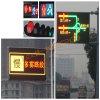 O indicador de diodo emissor de luz ao ar livre do tráfego assina a placa (P25mm)