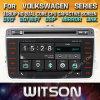 De Vensters van Witson zenden StereoSpeler DVD voor de Nieuwe Aankomst van de Reeks van Volkswagen via de radio uit
