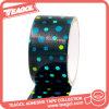 Cinta adhesiva coloreada impresa impermeable con los puntos, cinta del paño