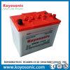 La batería de coche del comienzo rápido la batería de coche de 12 voltios amperios seca la batería de coche
