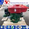 De draagbare 4-slag Enige Industriële Water Gekoelde Dieselmotor van de Cilinder