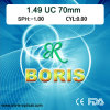 объектив одиночного зрения 70mm UC Cr39 1.499 оптически