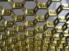 Acero inoxidable de alta calidad parrilla hexagonal de acero