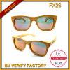 Óculos de sol de madeira de bambu do frame cheio quente do estilo da forma da venda