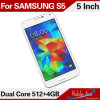 Android 4.2.2 Mtk6572, Arm Cortex A7, Dual Core, 1.2 GHz Galaxy S5 3G Smartphone