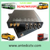 H. 264 HD 1080P Mobile DVR Support GPS Trackingおよび3G 4G WiFi HDD