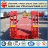 Lowbed hydraulischer LKW-Schlussteil-halb Schlussteil