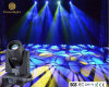 LED 디스코를 위한 이동하는 맨 위 광속 LED 결혼식 빛 LED 350W 빛