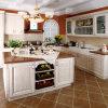 Module de cuisine de mélamine de meubles de cuisine avec la porte de Module de PVC (zc-020)