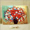 Olieverfschilderij van het Olieverfschilderij DIY van het Canvas van het Olieverfschilderij van de bloem het Met de hand gemaakte door Aantallen