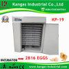 2013 Meilleure vente gros oeuf automatique incubateur (KP-19)