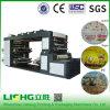 <Lisheng> Exporter vers le Ghana Machines à imprimer en film plastique haute vitesse à 4 couleurs Sachet d'eau