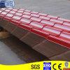 Azulejos de acero esmaltados modelo de la antigüedad del color rojo (YX28-207-828)