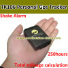 GPS Car Tracker, 850/900/1800/1900MHz, Sensor Shake, 250hours Standby Time, Build in Memory