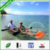 Recreation Two Person Clear Canoe with Light Weight Kayak Paddles