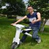 1 zweiter faltender K-Art-elektrischer beweglicher Roller mit Bluetooth