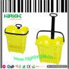Panier en chariot en plastique pour supermarché