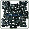 Высокое качество черного камня плитки мощеной плитки