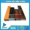 Profil en aluminium avec la couleur personnalisée anodisée/couche de poudre/graines en bois