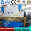 Гибочная машина металлического листа CNC серии фабрики Wc67 Китая гидровлическая с Ce&ISO