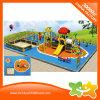 El plástico al aire libre del equipo del patio de los niños resbala para la venta