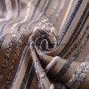 El tema de la banda de muebles de Jacquard tejido con material metálico