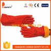 빨간 유액 온난한 장갑 DHL610