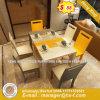 De industriële Eettafel van de Raad van het Meubilair van de Stijl Openbare Witte Gelamineerde (hx-8DN055)