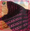 Flor 100% Poliéster Coreano Vestido Confecção de tecido de renda